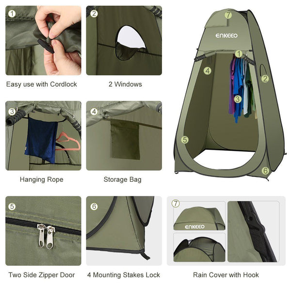 Privacy Pop Up Tent