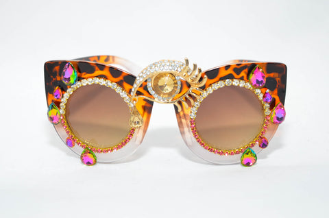 Wild Eye Shades in Pink - Vintage Shop - Hunt and Gather San Diego - Festival Fashion
