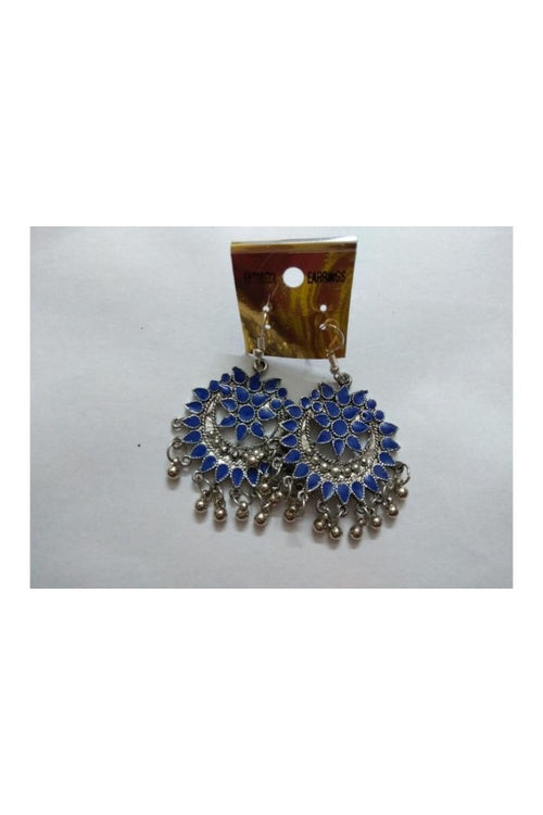 blue-round-ethnic-earrings-buy-jewelry-and-accessories-online