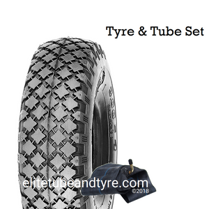 4.00-4 Block Tread Tyre and Tube