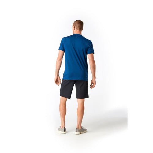 Men's Merino Sport 150 Prominent Peaks T-Shirt - Alpine Blue