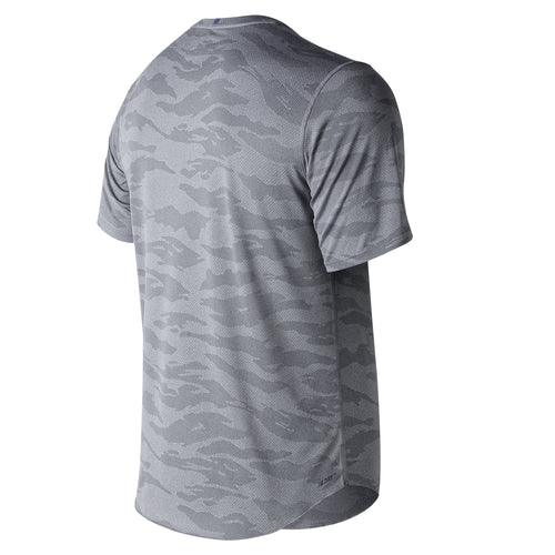 Men's Q Speed Breathe Short Sleeve - Athletic Grey