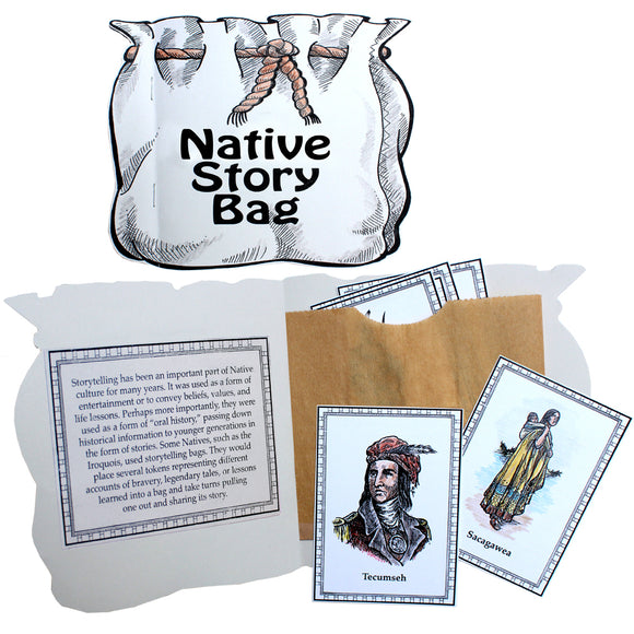 Native Story Bag Lap Book Project