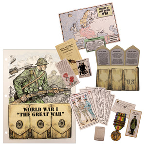 WWI: The Great War Lap Book/Notebook Project