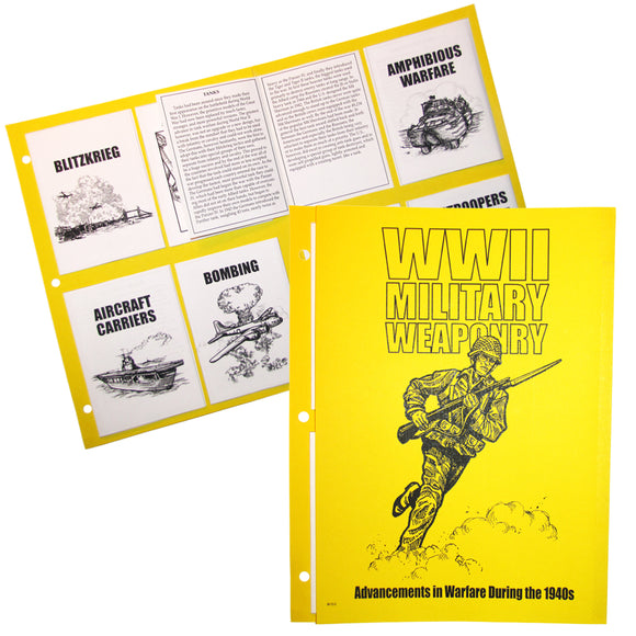 WWII: Military Weaponry Notebook Project