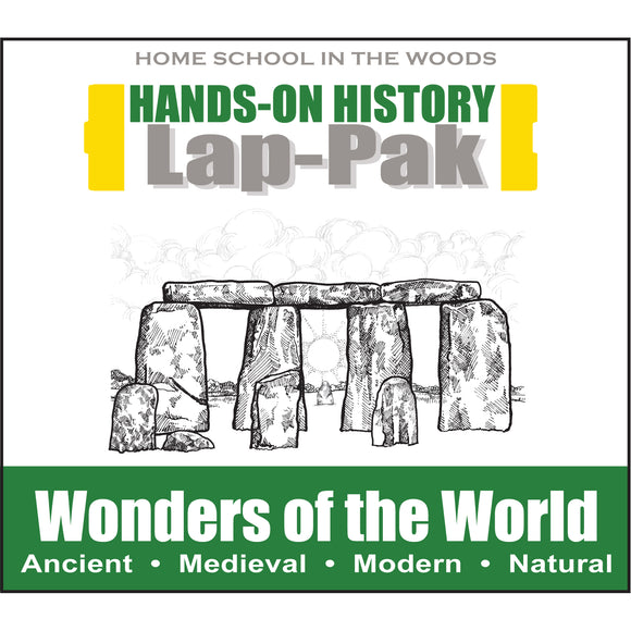 HISTORY Through the Ages Hands-On History Lap-Pak: Wonders of the World