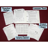 Sample Material (Teacher Helps, Instructions, and Text Lessons)