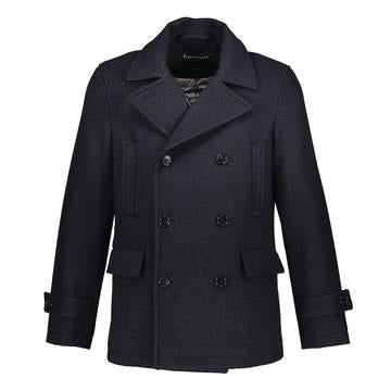 Madison Peacoat in Italian Wool