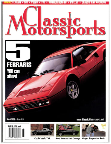 March 2006 - 5 Ferraris You Can Afford