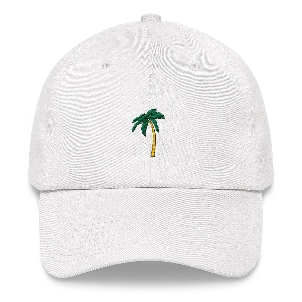 Palm tree Dad hat-The Tee Planet