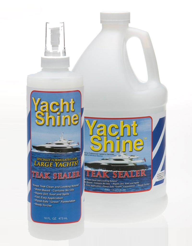 teak wood sealer / teak wood sealant for boats, yachts by boat brite and yacht shine