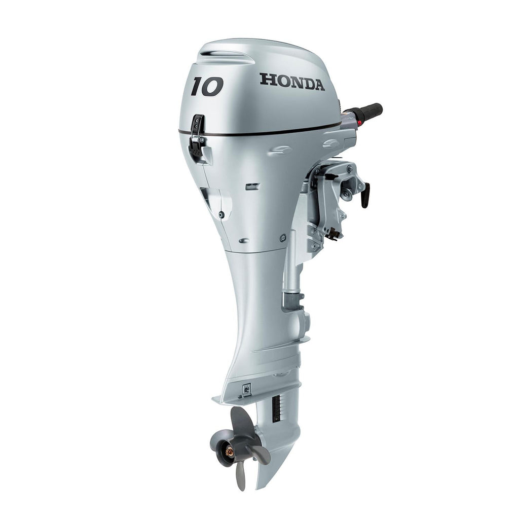 Honda 10hp 4-Stroke Outboard Engine with Short Shaft, Electric Start & Remote Control