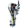 Honda 10hp 4-Stroke Outboard Engine with Short Shaft, Recoil Start & Tiller Handle