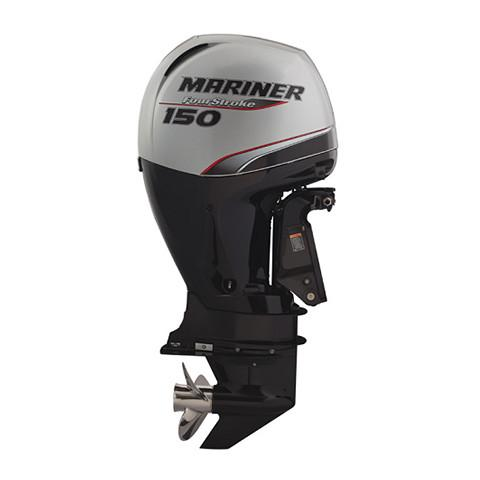 Mariner 150hp 4-Stroke Outboard Engine with Long Shaft, Electric Start, Remote Control, Power Trim & Tilt