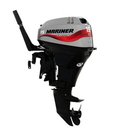 Mariner 15hp 4-Stroke Outboard Engine with Long Shaft, Electric Start & Remote Control