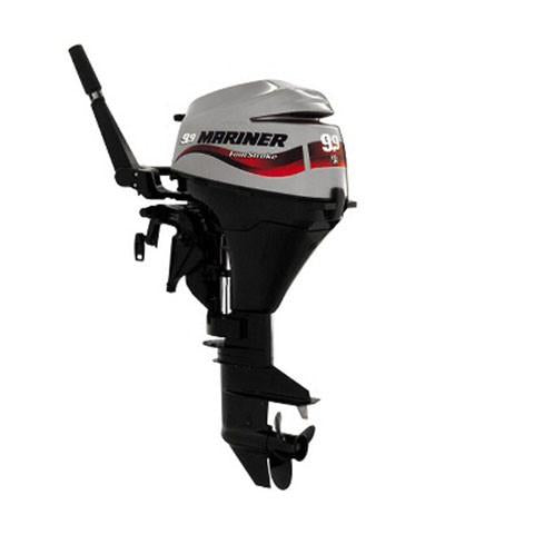 Mariner 9.9hp 4-Stroke Outboard Engine with Long Shaft, Electric Start & Remote Control