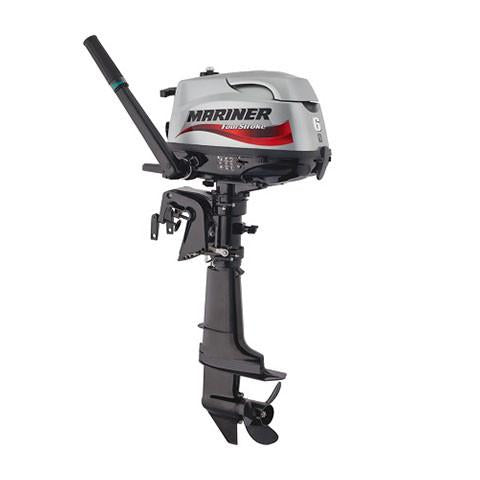 Mariner 6hp 4-Stroke Outboard Engine with Short Shaft & Tiller Handle