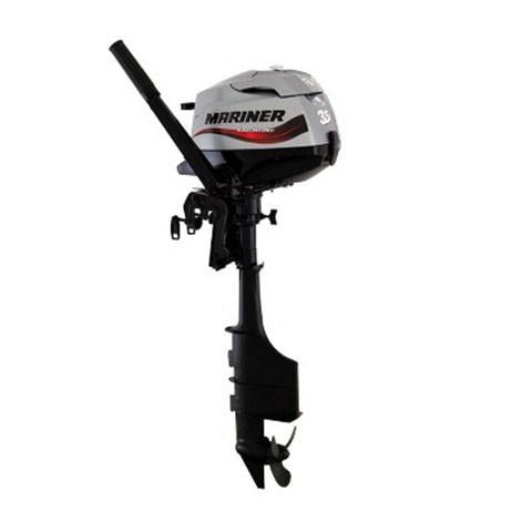 Mariner 3.5hp 4-Stroke Outboard Engine with Long Shaft & Tiller Handle