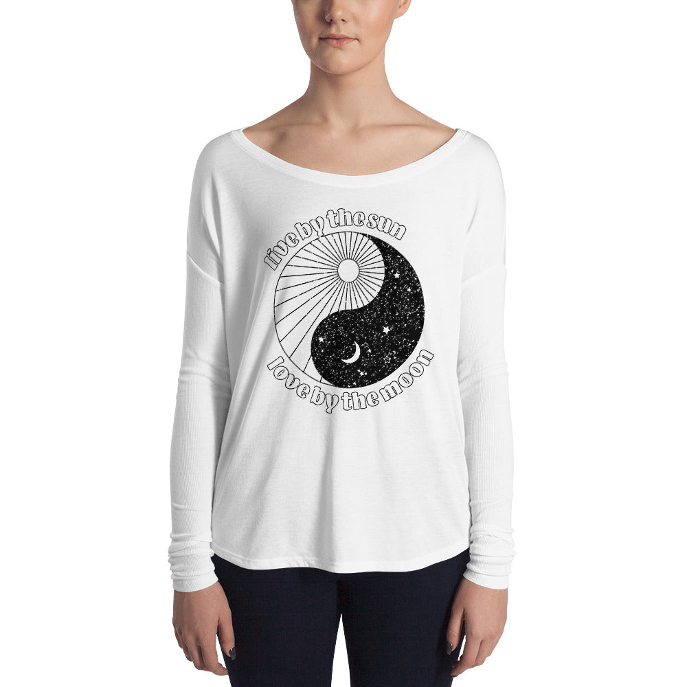 Live by the Sun, Love by the Moon Long Sleeve Tee