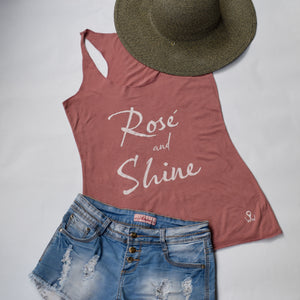 Rosé and Shine | Comfortable Leisure Wear | Tipsy Tanks | Shop Wander Wear