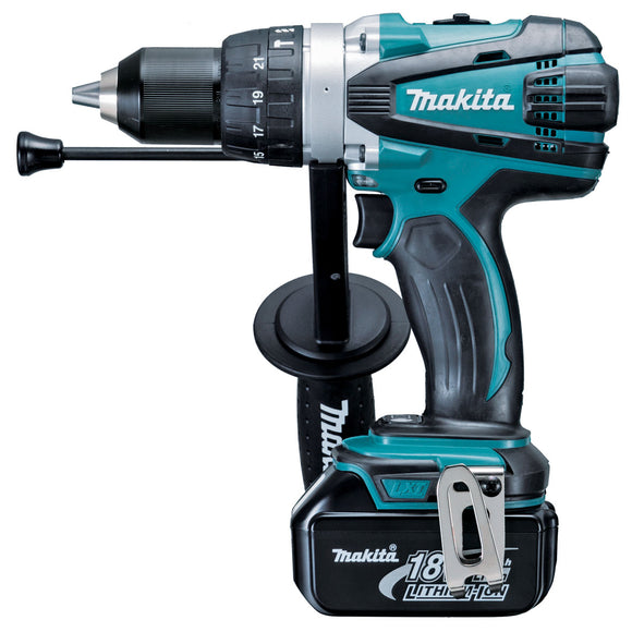 Makita DHP458RFE 18V Mobile Heavy Duty Hammer Driver Drill Kit