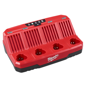 Milwaukee M12C4 M12 Four Bay Sequential Charger