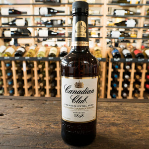 CANADIAN CLUB 1858 BLENDED CANADIAN WHISKY 750ML