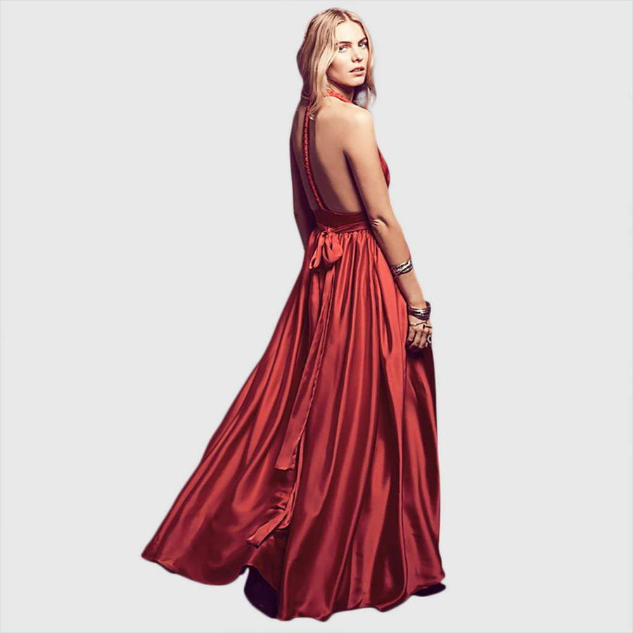Robe de Cocktail rouge