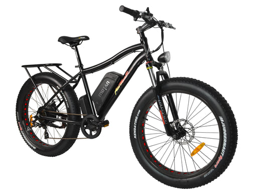 Addmotor Fat Bike Matte Black Addmotor MOTAN M550-P7 Electric Fat Bike Electric Bicycle USA