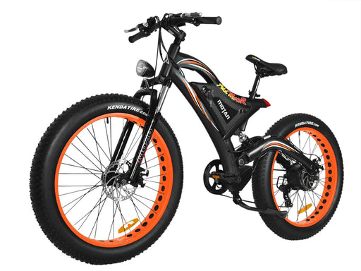 Addmotor Fat Bike Orange Addmotor MOTAN M850-P7 Electric Fat Bicycle Electric Bicycle USA