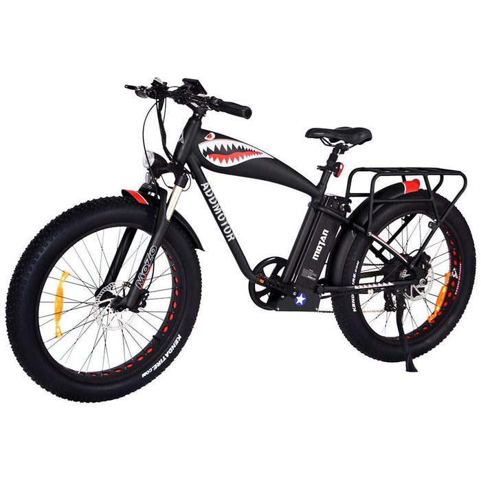 Addmotor Mountain Bike Black Addmotor M-5500 Commemorative Flying Tiger Electric Fat Bike Electric Bicycle USA