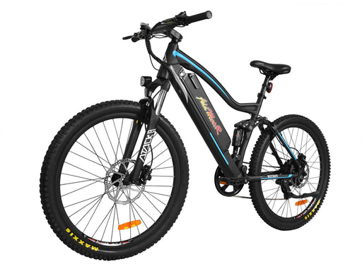 Addmotor Mountain Bike Blue Addmotor HitHot H1 Platinum Mountain Ebike Electric Bicycle USA