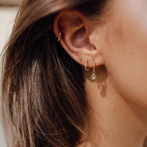Lumina Charm Earrings - Edge of Ember Jewellery