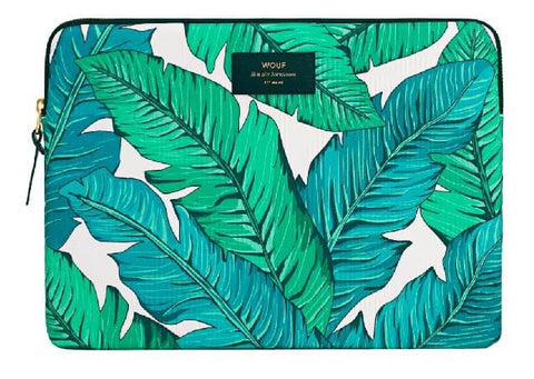 "WOUF - TROPICAL 13"" - LAPTOP SLEEVE"