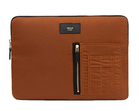 "WOUF - BRONZE BOMBER 13"" - Laptop sleeve"