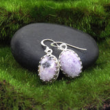 Purple Sugalite Earrings