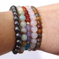Stacked Healing Bracelets