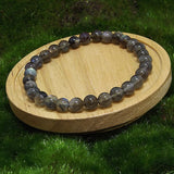 Labradorite Healing Bracelet on Wood