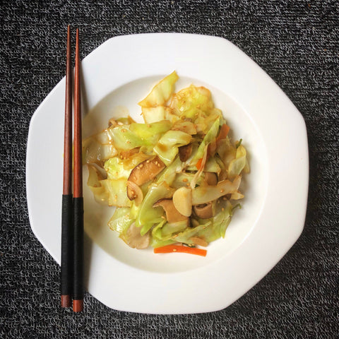 Sesame Cabbage Stirfry