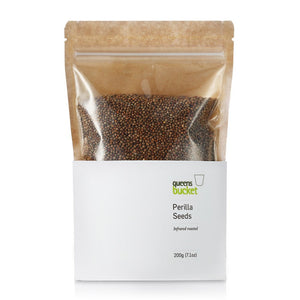 Queens Bucket Infrared-Roasted Perilla Seeds - Gotham Grove