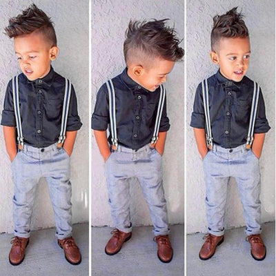 3Pcs Boy Party Fashion Clothing Sets Kids Now Apparel