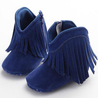 Anti-Slip Fringe Baby Boots Kids Now Apparel
