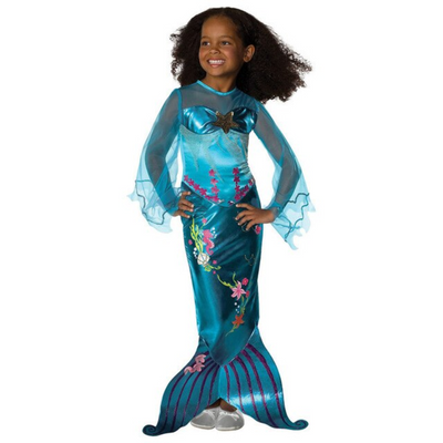 Cute One Piece With Pearl Mermaid Toddler Costumes Dresses Kids Now Apparel