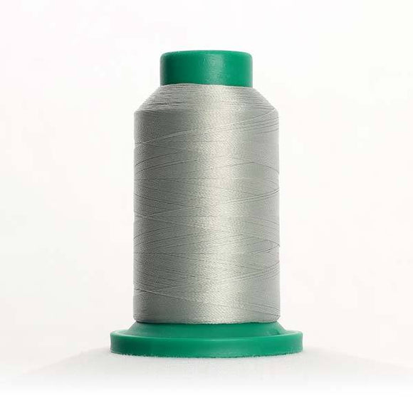 Isacord 5000m/5500yd 40wt solid trilobal polyester thread  number 0176 Fog