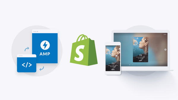 Using a Shopify alternative article template with the Amp Story component. AMP stories immerse readers in tappable, full-screen content.