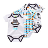 3 Pieces/lot Brand Summer Baby Boys Romper