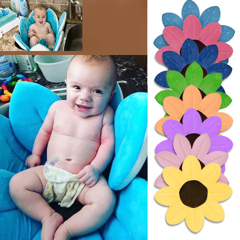 Newborn Baby Bathtub Foldable Blooming Flower Shape