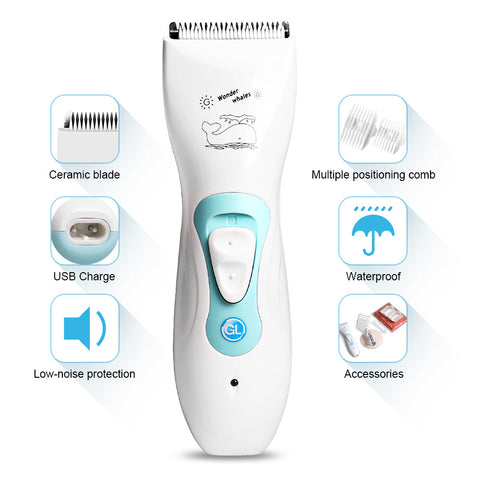 USB Rechargeable Electric Hair Clipper