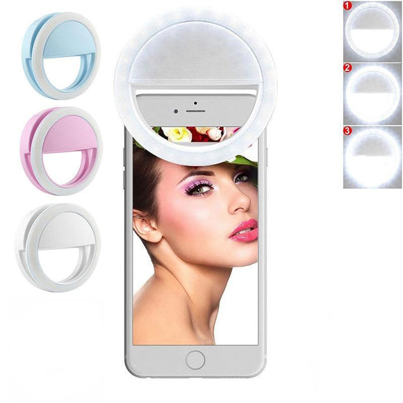 Glow Allure United States / White Portable Selfie Ring Light