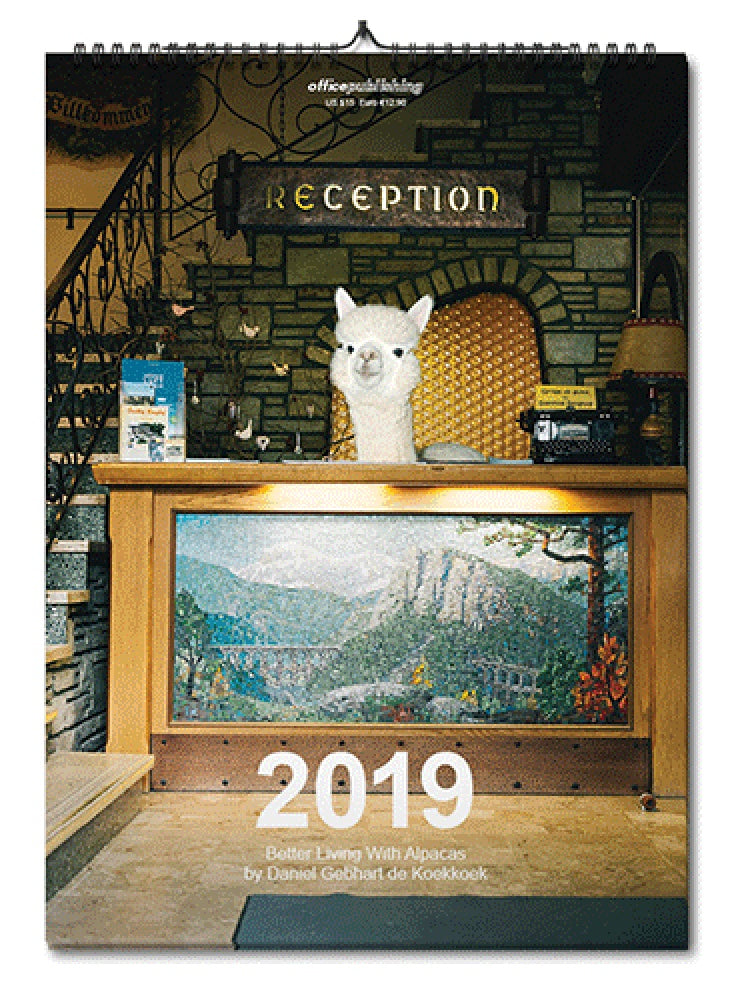 Better Living with Alpacas Calendar